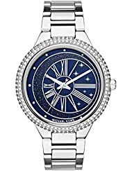 Michael Kors Womens Taryn Quartz Stainless Steel Casual Watch, Color:Silver-Toned (Model: MK6549)