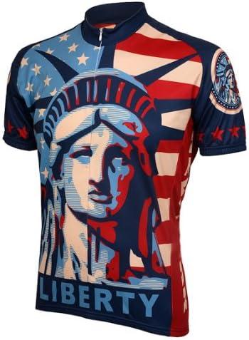 Team USA Statue of Liberty Men/'s Cycling Jersey