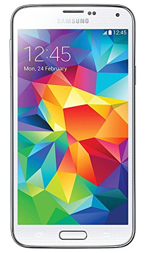 Samsung Galaxy S5 SM-G900T - 16GB - Shimmery White Smart Phone - Unlocked (Renewed) (Virgin Mobile S4 Samsung)