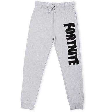 meilleur service 118a1 18912 Fortnite Vêtement Garçon   Bas de Jogging Enfant Noir ou Gris   Pantalon de  Survêtement Garçon du 7 au 14 Ans   Pantalon de Sport Enfant Taille ...