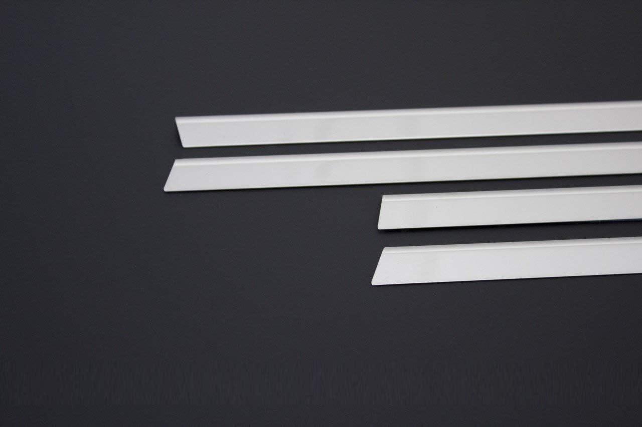 Para C5 SALOON 2008UP Acero inoxidable cromo ventanas marco TRIM cubierta 6 piezas