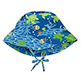 i play. Toddler Boys' Bucket Sun Protection Hat, Royal Blue Turtle Journey, 2T/4T