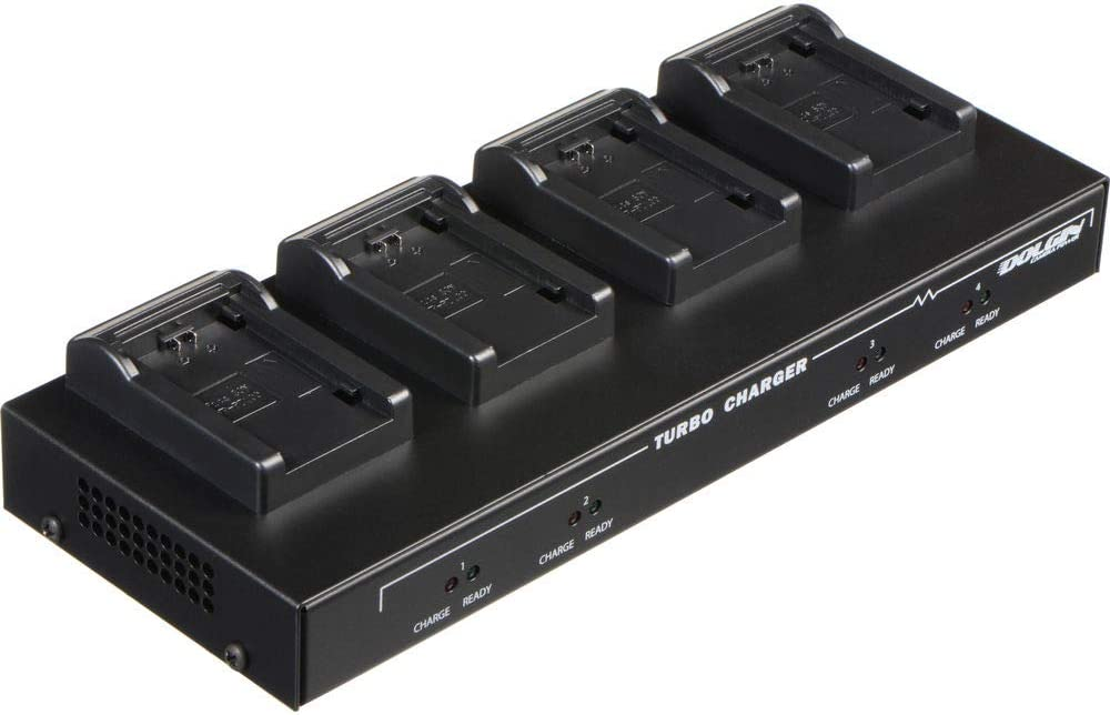 Dolgin Engineering Four Position Battery Charger for Sony NP-FZ100 Battery Pack