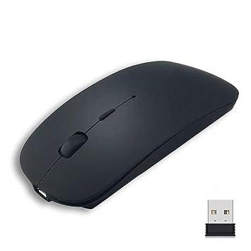 Wolfarya Ratón Inalámbrico Mouse 2.4G Raton Inalámbrico Silencioso Portatil con Nano Receptor USB, Raton