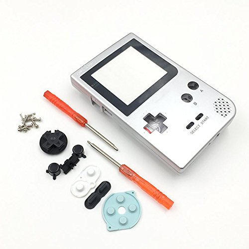 (Replacement Complete Full Housing Shell Case Cover Part for Gameboy Pocket GBP)