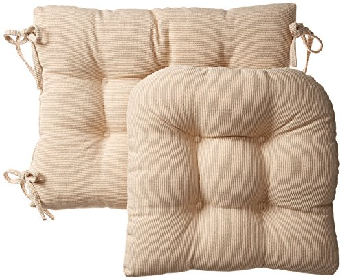Klear Vu Gripper Jumbo Saturn Rocking Chair Cushion Set, Natural (Cushion Sets)