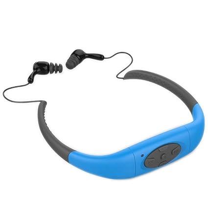 Deporte Reproductor Mp3 Auriculares Estéreo Auriculares Inalámbricos Inalámbricos Ipx8 Súper Bluetooth Para Nadar Surf Senderismo