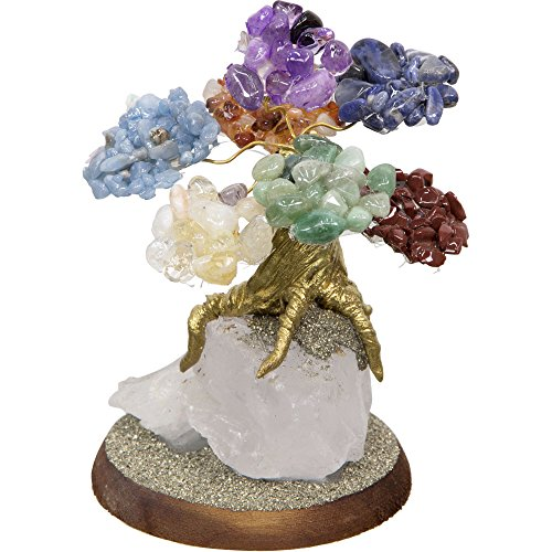 Bonsai Gemstone Wishing Tree - Chakras ()