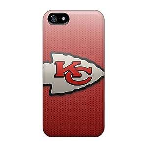 Iphone 5/5s Cmg19999zhqx Allow Personal Design HD Kansas City Chiefs Series Perfect Hard Phone Cover -LauraAdamicska