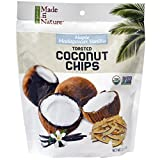 Made in Nature, Organic Toasted Coconut Chips, Maple Madagascar Vanilla, 3.0 oz (Pack of 6)