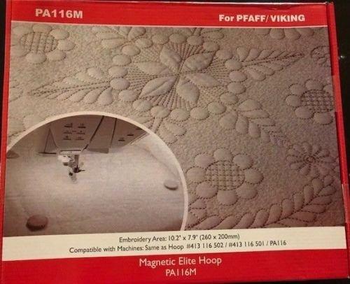 Amazon.com: Metal/Magnetic Hoop for Husqvarna Viking Designer Embroidery Machine 260x200mm