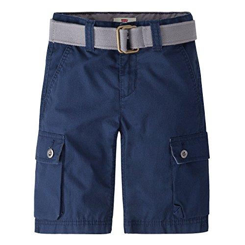 Levi's Boys' Big Cargo Shorts, Dress Blues, 10 (Boys Levis Size 10)