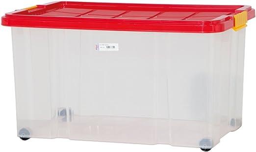 Euro Caja con tapa, grande 60 x 40 x 30 cm: Amazon.es: Juguetes y ...