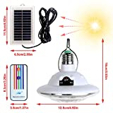 LISOPO 22LED Solar Remote Control Lights,Portable