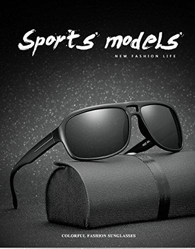 Protección Aviator D 400 Hombre para Gafas Polarizadas De UV Sol para Mujer A qgwB8