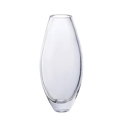 Amazon Dartington Crystal Opus Large Oval Vase Home Kitchen