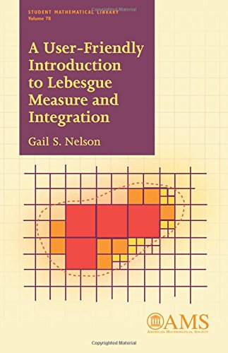 A User-friendly Introduction to Lebesgue Measure and Integration (Student Mathematical Library)