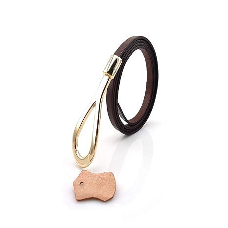 Cinturones de mujer Cinturón de cuero fino del todo-fósforo de la hebilla del  cinturón 03a74d6fc1dd