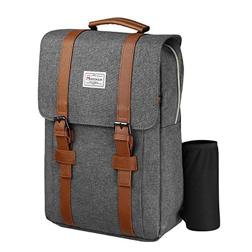 Modoker Travel Laptop Backpack womens mens vintage backpack Fits 15 inch Laptop