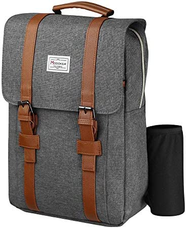 Modoker Travel Laptop Backpack womens mens vintage backpack Fits 15 inch Laptop