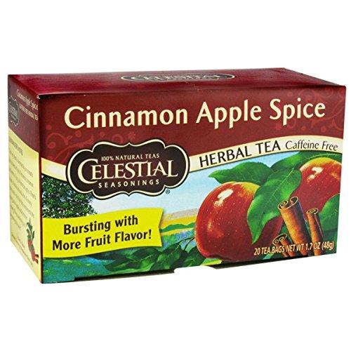 Celestial Seasonings Herb Tea Cinn Apple Spice 20 Bag