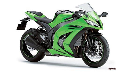 Motorcycle Kawasaki Ninja Zx-10R 2011 20 - 24X36 Poster