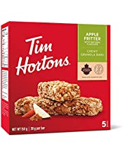 Tim Hortons Apple Fritter Granola Bars, Peanut Free, 5 Count