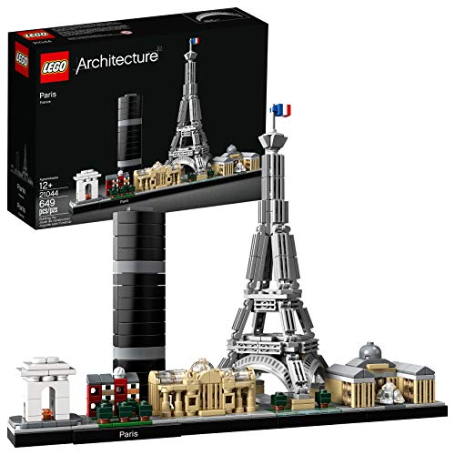 LEGO Architecture Skyline Collection 21044 Paris Building Kit, 2019 (694 Pieces) (Lego Architecture Building Set)