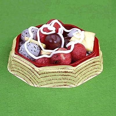 YZjk Novedad Home Tazones y Platos, Tazón de plástico desechable, Caja, Arroz Sopa Filete Ensalada de Frutas Desayuno Cocina Sashimi para Llevar Anti, Escaldado Apilable [50 Paquetes]: Amazon.es: Hogar