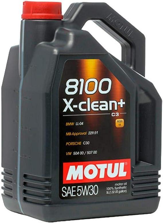 Motul 11113941 Motor Schmieröl 8100 X Clean 5w30 5l Auto