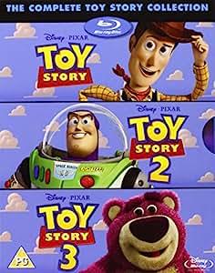 Toy Story 1 - 3 [Reino Unido] [Blu-ray]