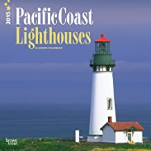 Lighthouses, Pacific Coast 2015 Square 12x12 (Multilingual Edition) by BrownTrout (2014-07-15)