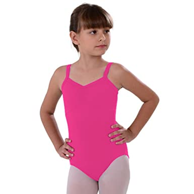 8a6a4dbdb Amazon.com  So Danca Dark Pink Camisole Rhinestone Dance Leotard ...