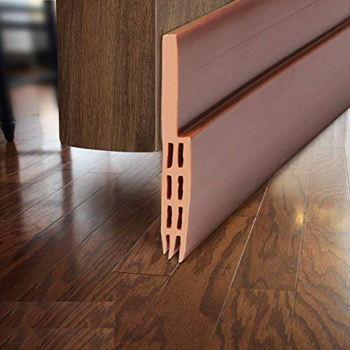 METRENO Air Gap Waterproof Gel Self-Adhesive Rubber Window/Door Shield Weather-Strip Tape for Cockroach Insect Bugs…