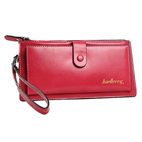 Baellerry Leather Coin Purse Wallet (WATERMELON) - 1