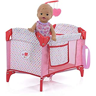Little Mommy Hauck Doll Play Yard with Mobile