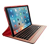 Logitech Create Backlit Keyboard Case with Smart Connector for iPad Pro (12.9-Inch) - Red (Certified Refurbished)