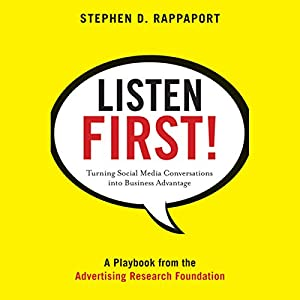 Listen First! Audiobook