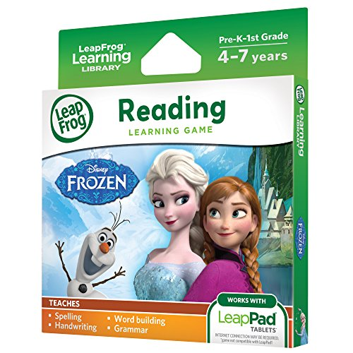 511buJn48hL - LeapFrog Disney Frozen Learning Game (for LeapPad Platinum, LeapPad Ultra, LeapPad2, LeapPad3)