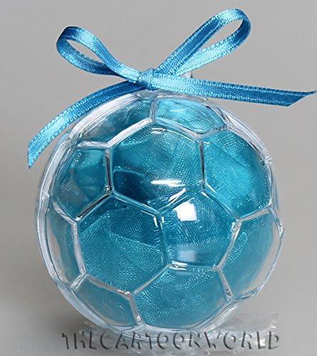 Bombonera Estuche Caja Puerta Confetti Disney pelota Balón 6 cm ...