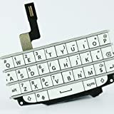 White Qwerty Keyboard Keypad Button+Replacement Repair Fix Tools for Blackberry Q10