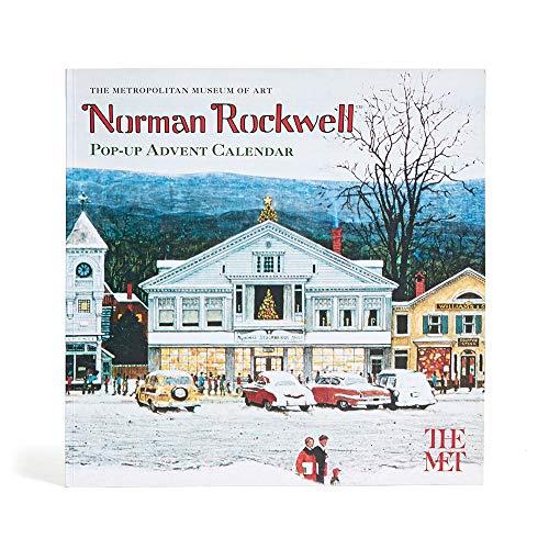 [해외]메트로폴리탄 미술관 노먼 록웰 팝업 크리스마스 강림절 달력 / THE METROPOLITAN MUSEUM OF ART Norman Rockwell Pop-Up Christmas Advent Calendar