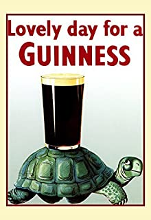 Amazon.com: Guinness Poster, Lovely Day for a Guinness, Tucan ...