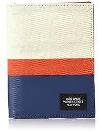 Jack Spade Men's Horizontal Stripe Passport Wallet