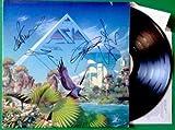 ASIA Alpha GHS 4008 SIGNED AUTOGRAPHED VINYL RECORD LP