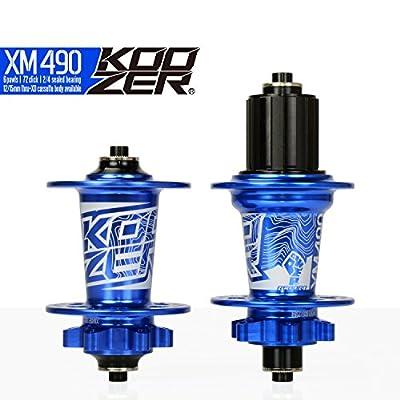 KOOZER XM490 Bicycle Hub Disc 32H Front&Rear MTB/Road 9x100MM 10x135MM