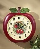 Vintage Look Apple Kitchen Wall Clock