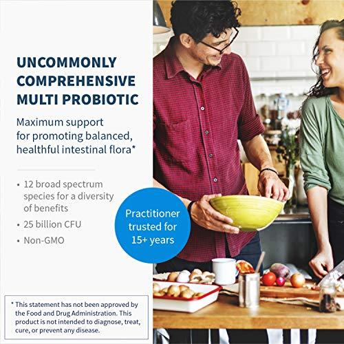Klaire Labs Ther-Biotic Complete Probiotic - 25 Billion High CFU Blend, The Original Hypoallergenic Probiotic for Men & Women, Dairy-Free (120 Capsules) by Klaire Labs (Image #1)
