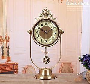 silent clock quartz desk clock living room bedroom bedside table clock