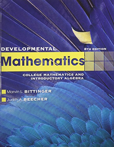 Developmental Mathematics with MathXL (12-month access) (8th Edition)